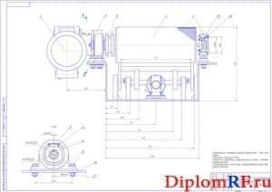 Приводной механизм стенда с подъёмным роликом (3 листа формат А1)