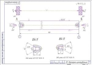 8.Фрезерно-центровальная операция А3