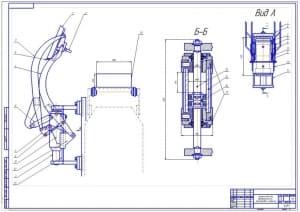 9.Сборочный устройства для автоматической проставки стержней А1