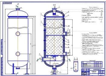 Проект реконструкции конвертора и абсорбера для очистки газа сгорания