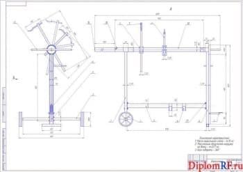 Проектирование малярного участка с разработкой стола-стойки для окраски кузовных элементов