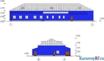Проект пассажирского здания автобусного вокзала