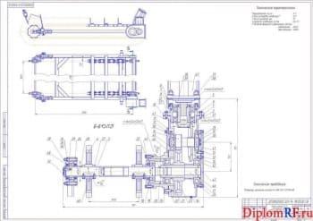 Ремонт скрепера с проектированием приспособления для разрезания гаек