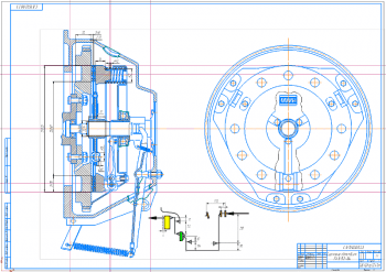 Проектирование сцепления на базе прототипа ГАЗ-52-04 с определением скоростных свойств и топливной экономичности автомобиля