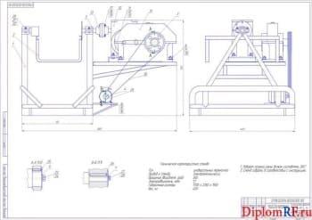 Совершенствование процесса технической эксплуатации автомобилей в АТП с разработкой стенда-кантователя для ремонта ДВС