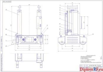 Проект зоны текущего ремонта с разработкой технологии ремонта сцепления и конструкции канавного подъёмника