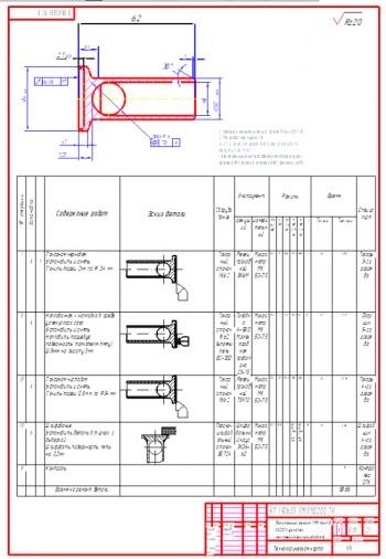 1.Технологическая карта капитального ремонта ГРМ КамАЗ-53212 в условиях мелкосерийного производства А1