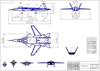 Разработка военного летного аппарата истребителя