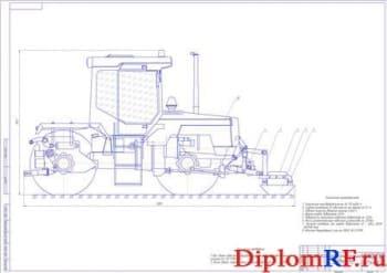 Разработка навесного оборудования виброуплотняющего на базе трактора ЛТЗ-155