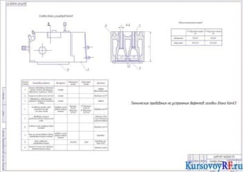 Разработка технологического процесса восстановления головки цилиндра двигателя