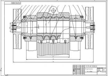Проект щековой дробилки со сложным движением щеки для измельчения доломита