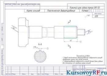 Разработка технологии восстановления заднего тормозного кулака автомобиля ЗИЛ-130