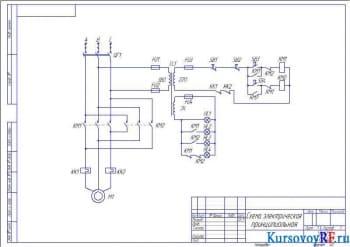 Проектирование системы реверсивного управления 3-х фазным асинхронным электродвигателем