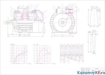 Курсовое проектирование двигателя с короткозамкнутым ротором