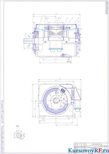 Курсовое конструирование асинхронного двигателя серии 4A