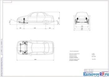 Курсовое исследование, разработка и расчет передней подвески автомобиля легкового типа