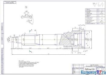 Разработка КПП автомобиля ГАЗ-53А