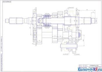 Конструирование механизма КПП грузового автомобиля с расчетом основных конструктивных параметров и выполнением чертежей