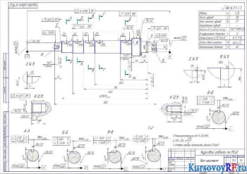 КПП ЯМЗ 238П: курсовое исследование, проектирование, расчет и чертежи
