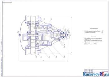 Расчетное конструирование главной передачи автомобиля ЗИЛ - 130