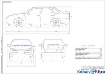 Курсовая разработка коробки передач для автомобилей малого класса
