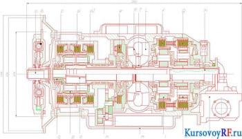 Проведение тягово-экономического расчета автомобиля с рассмотрением работы механической трансмиссией