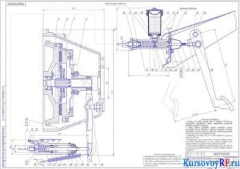 Проектирование и расчет автомобильного сцепления для модели ЗМЗ-406
