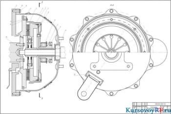 Курсовой расчет и конструирование фрикционного сцепления автомобиля