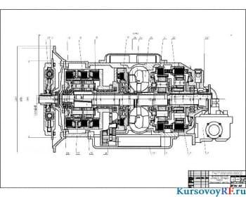 Курсовое выполнение тягово-экономического расчета автомобиля с механической трансмиссией