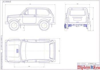 Усовершенствование трансмиссии автомобиля ВАЗ 21214 с конструктивной разработкой колесных редукторов