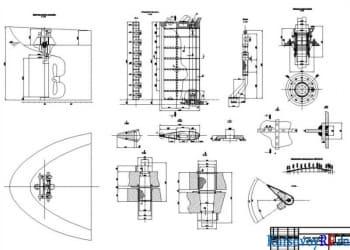 Курсовой проект по рулевому устройству судна