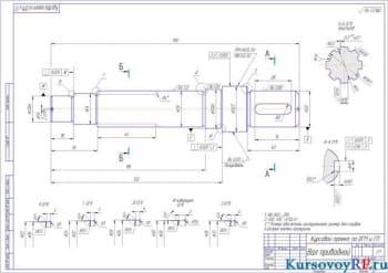 Конструкция насоса усилителя привода руля