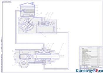 Курсовой расчет рулевого управления автомобиля ЗИЛ-4333