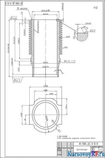 Конструкция дизельного двигателя