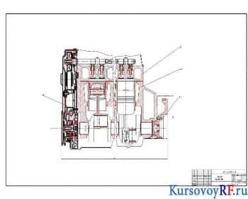Курсовое конструирование четырехтактного бензинового двигателя легковому автомобилю