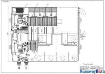 Проектирование турбогенератора с косвенным водородным охлаждением
