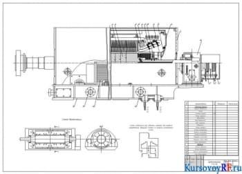 Разработать проект турбогенератора Т-12