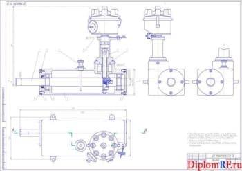 Модернизация дизеля ЯМЗ-238 для работы на газе