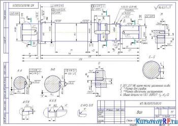 Проектирование конструкции привода для конвейера (транспортера)