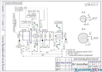 Курсовое проектирование одноступенчатого косозубого редуктора с горизонтальным расположением валов