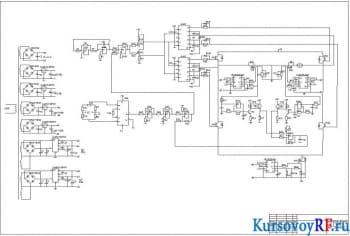 Блок электронный управления двигателя постоянного тока