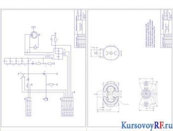 магнетрон импульсный и электрическая схема А2х2
