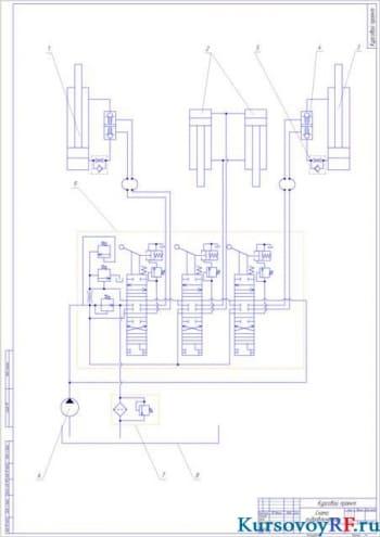 Основные характеристики бульдозера МТЗ с приведенными расчетами основных параметров