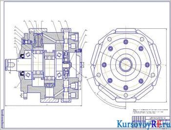 Гидропривод автомобильного подъемника ПМС – 328.508