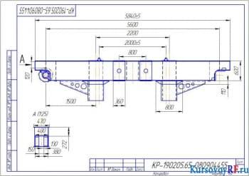Разработка металлоконструкции крана мостового