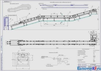 Конструирование и расчет ленточного конвейера с расчетом основных параметров