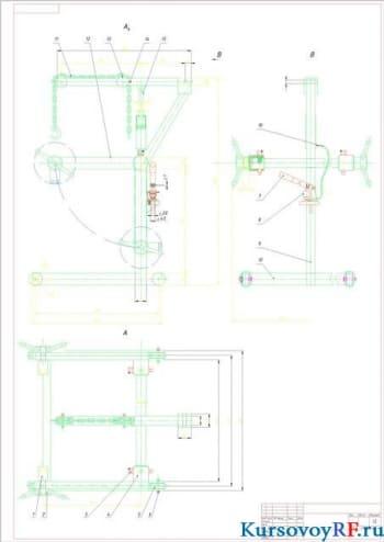 Разработка крана для снятия и установки агрегатов в условиях автосервисного предприятия