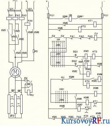 Электропривод грузового лифта курсовая работа