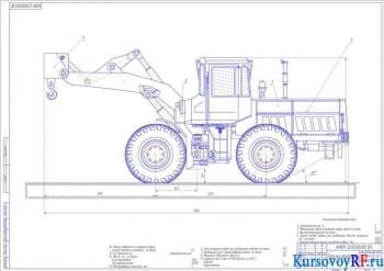 Создание грузоподъемного оборудования на базе погрузчика фронтального исполнения