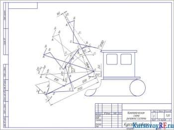 Расчет погрузчика фронтального модели Д-660